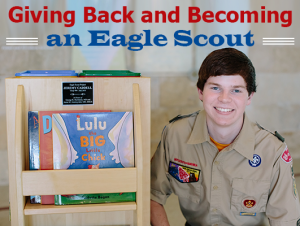 Jeremy Caddell, Giving Back to Become an Eagle Scout